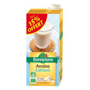 Boisson avoine calcium dont 15% gratuit BONNETERRE
