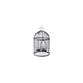 Photophore cage pour oiseaux.