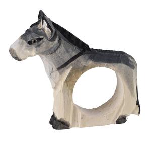 Rond de serviette âne