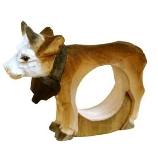 Rond de serviette Petite vache