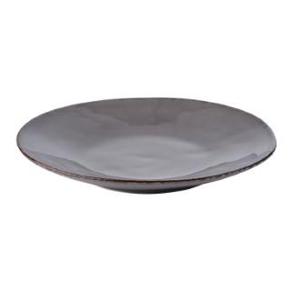 Assiette plate en céramique 28 cm de diamètre