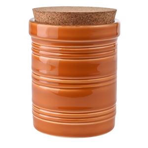 Pot Campagne orange et bouchon de liège