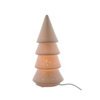 Lampe Porcelaine en forme d'arbre de Noël