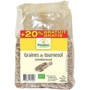 Graines de tournesol 500 g + 100 g PRIMEAL