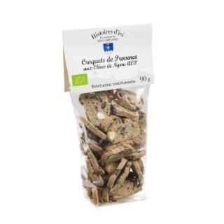 Croquets Bio aux olives de Nyons AOP 90 g
