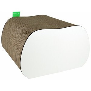 Griffoir Stono blanc 18x30x30 cm