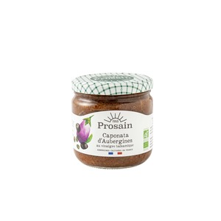 Caponata bio d'aubergine - 350 gr 290196