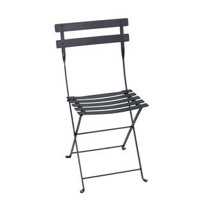 Chaise pliante d'extérieur couleur carbone