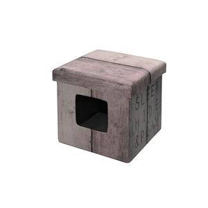 Cube Ottoman Beige 38x38x38