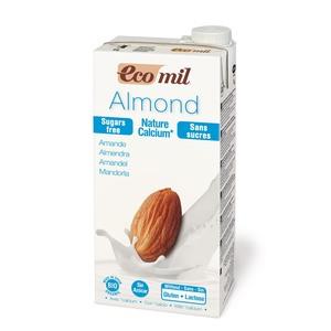 Lait d'amande calcium sans sucres ajoutés 1 l ECOMIL