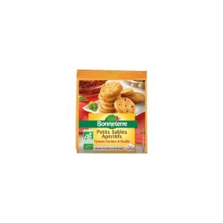 Petits sablés apéritifs aux tomates Bonneterre bio 90 g 292729