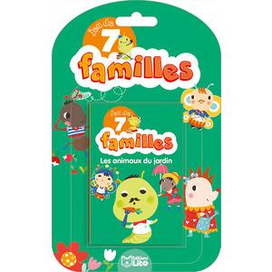 Les Animaux du Jardin Jeux des 7 Familles 5 ans Éditions LITO 293423