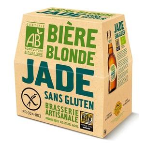 Bière Jade bio sans gluten. Le pack 6x 25cl LA JADE