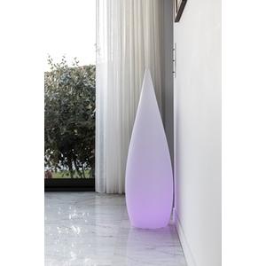 Grand cyprès lumineux blanc 150 cm de haut