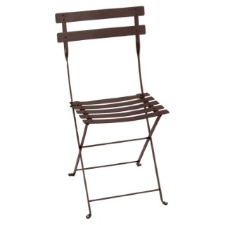 Lot de 2 chaises pliantes FERMOB rouille 298006