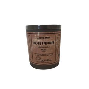 Bougie ronde parfumée à l'Ambre - 160g