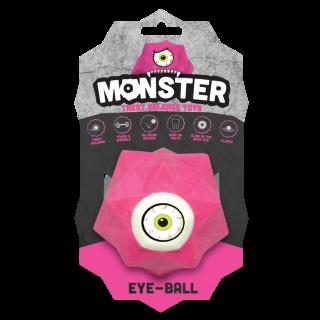 Balle pour chien Monster Ball coloris rose 9 cm 298758