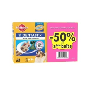 Lot dentastix petits chiens 2nd à 50% 298921
