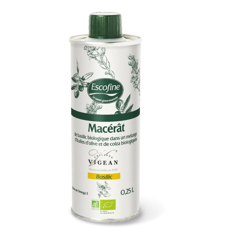 Macerat basilic bio 25 cl VIGEAN