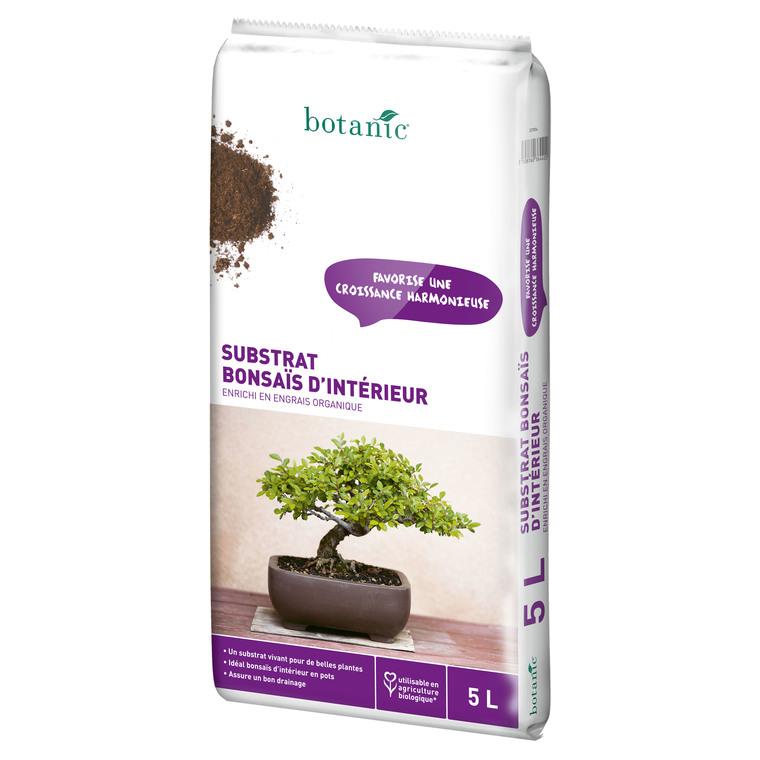 Substrat bonsaï d'interieur 5L