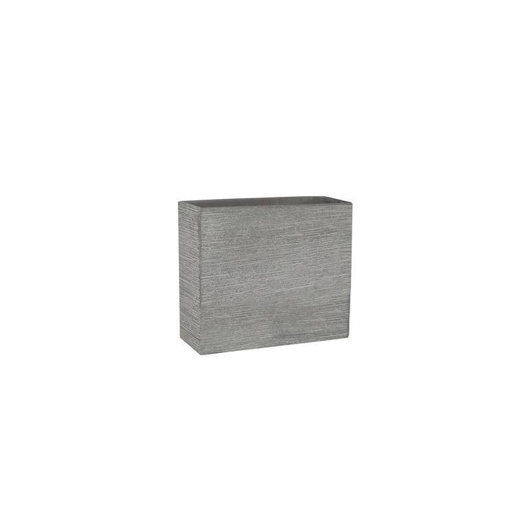 Muret STREAM gris clair L.74 x l.22 x H.66 cm