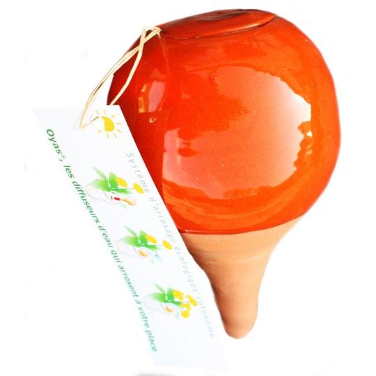 OYAS à planter émaillée orange
