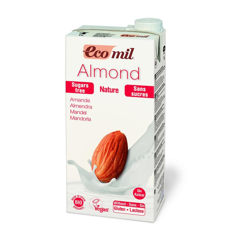 Lait d'amande sans sucres ajoutés 1 l ECOMIL