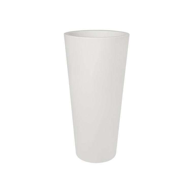 Pot Pure Straight Round Haut blanc 201279