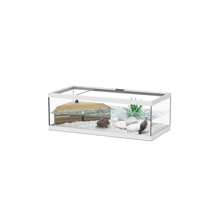 Aquaterrarium Tortum 75 blanc 201496