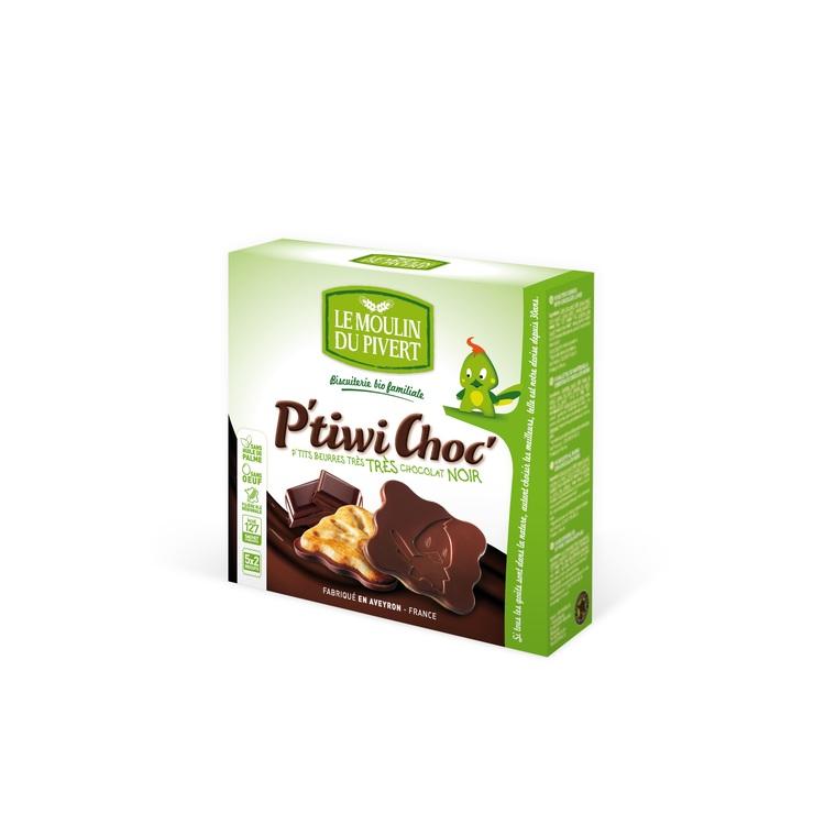 P'tiwi au Chocolat noir bio - 125 gr 208132