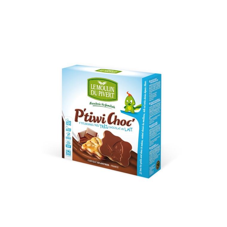 P'tiwi au Chocolat au lait bio - 125 gr 208133