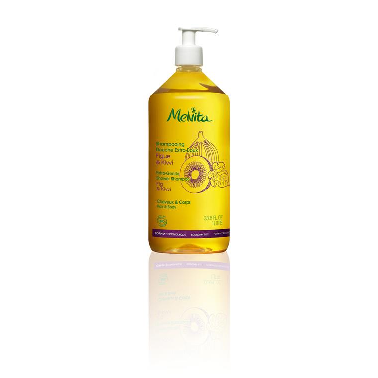 Shampooing Douche Extra Doux Melvita. Le Flacon De 1 L 212817