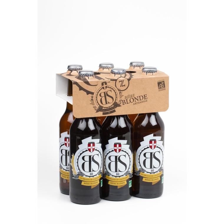 Bière blonde 6 x 33 cl 219448