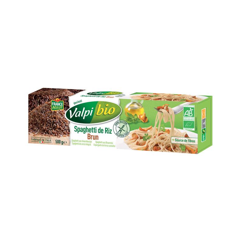 Spaghetti de Riz brun bio - 500 gr 221114