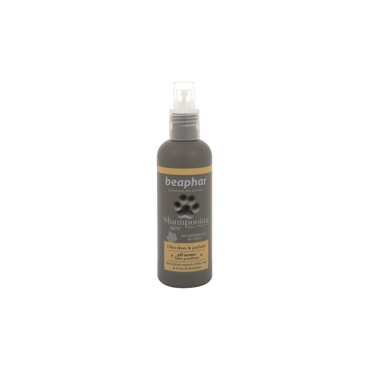 Spray shampooing sec premium pour chien 200 ml 221819