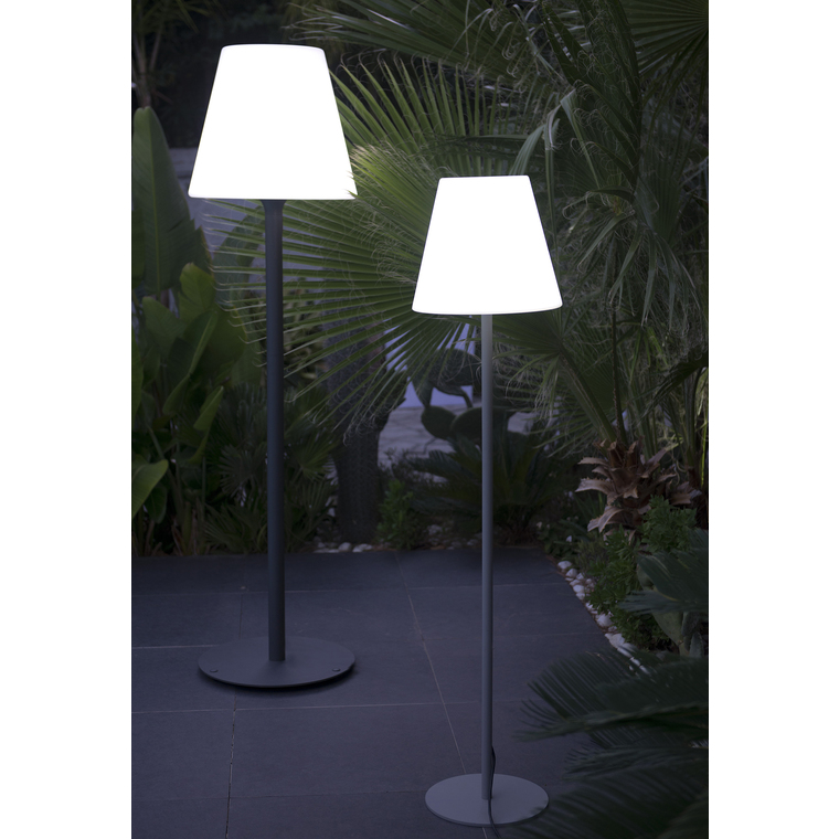 Lampadaire extérieur blanc 148cm Standy W150 222702
