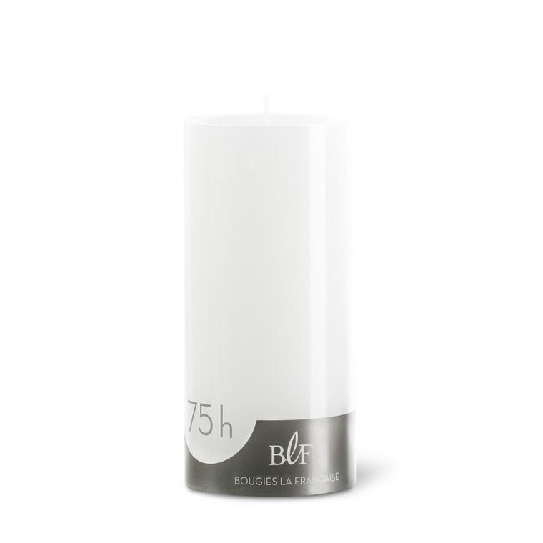 Bougie cylindrique 7x15 cm - Blanc 223377
