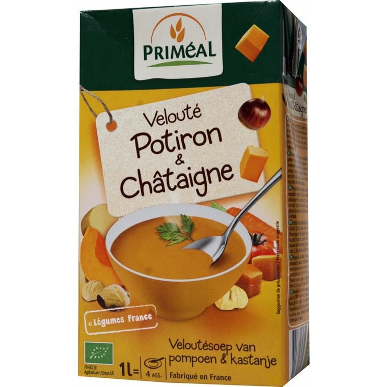 Velouté de Potiron et Châtaigne bio - 1L 224083