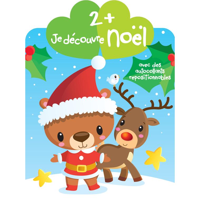 Je Découvre Noël  2 + Rennes Yoyo Books Dilisco 226586