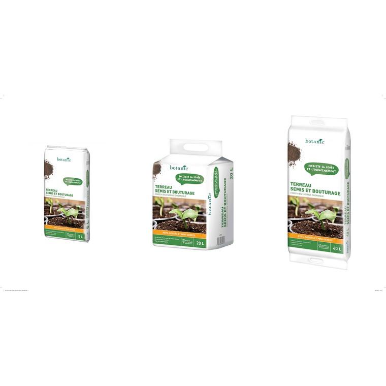 Terreau semis et bouturage 20 L 227053