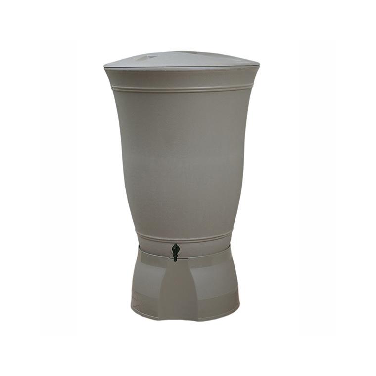 Récupérateur à eau Floral 300 litres taupe 227662