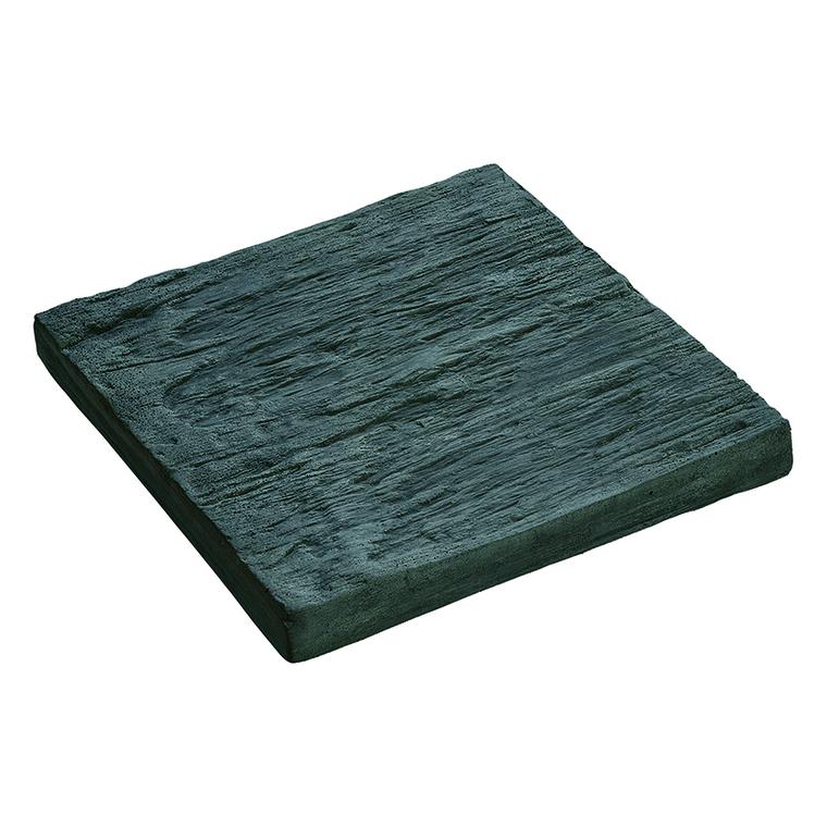 Carreaux aspect Schiste en béton coulé anthracite 24x24 cm 229621