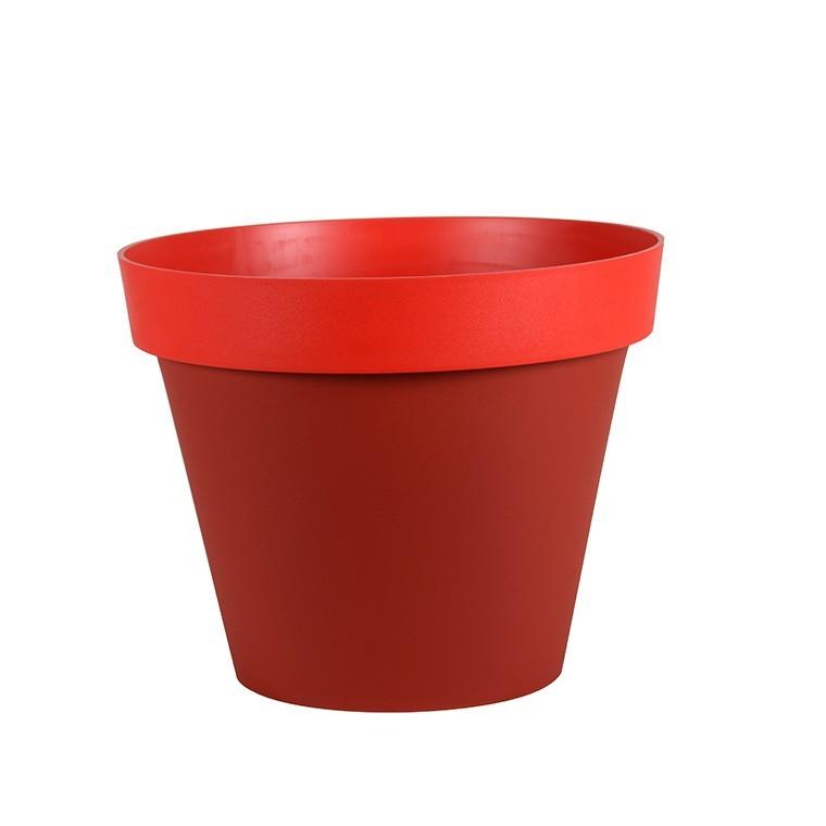 Pot STYLE piment-coquelicot Ø.40 x H32 231215