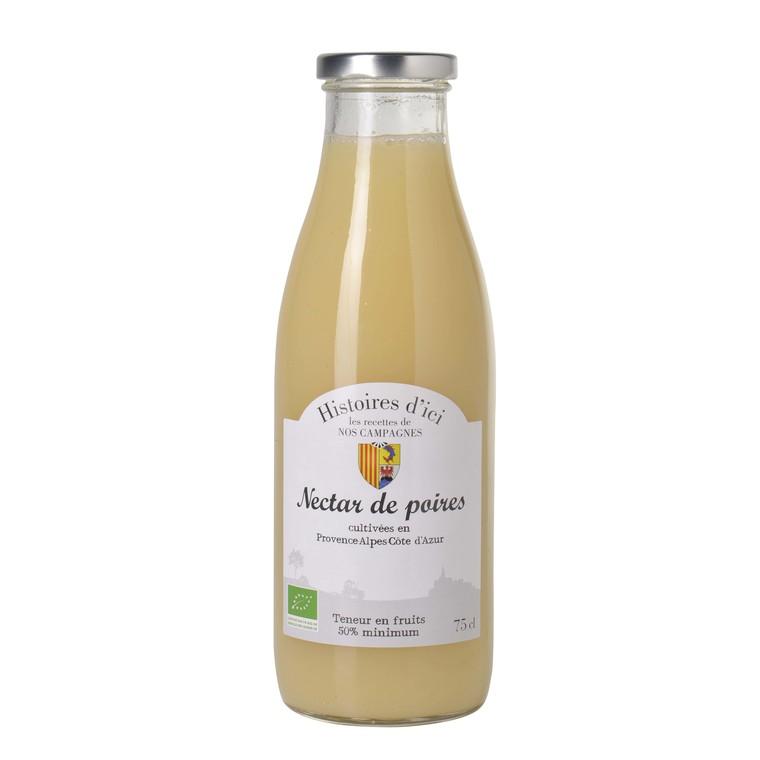 Nectar de poire bio PACA Histoire d'ici 75 cl 233394