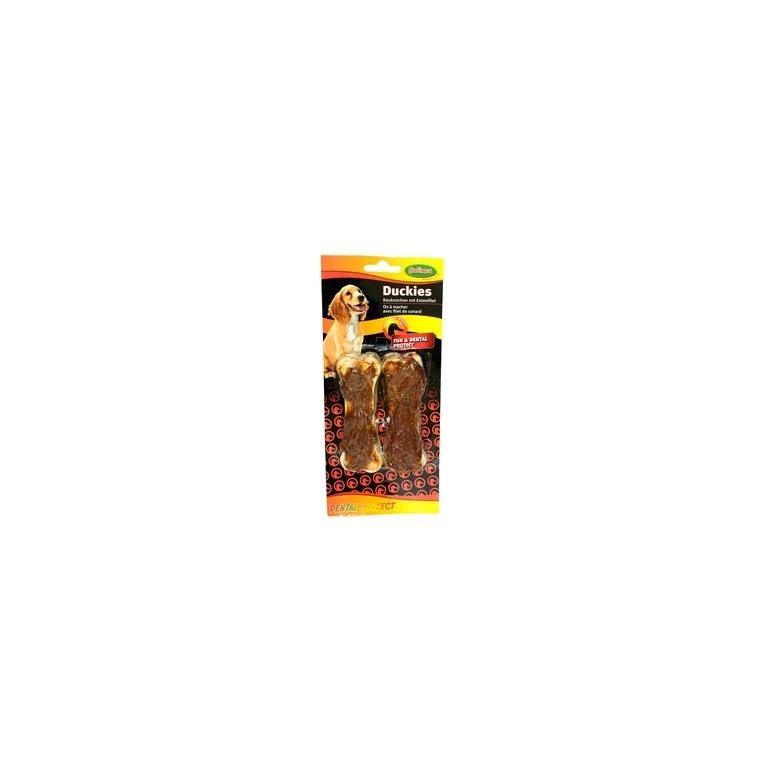 Duckies os à mâcher avec filets de canard X2 Bubimex 90g 233946