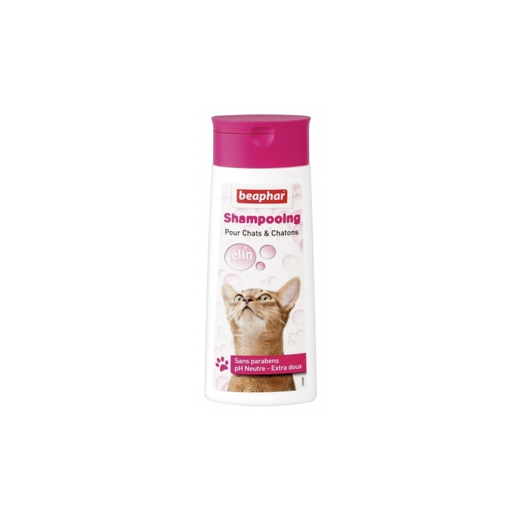 Shampoing Bulles Chats et Chatons 250 ml 233966
