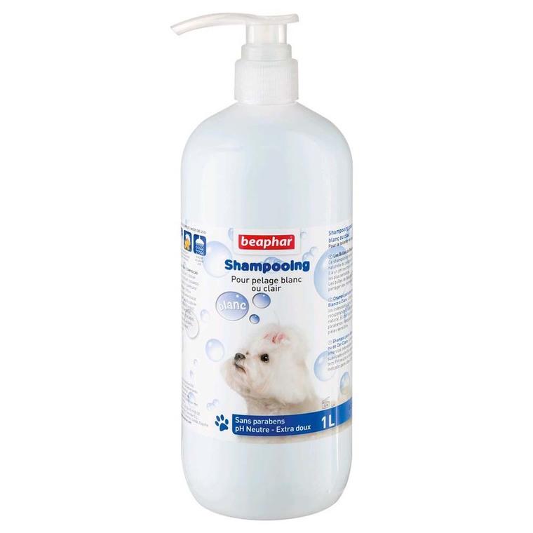 Shampoing Bulles Pelage Blanc pour chien 1 L 233970