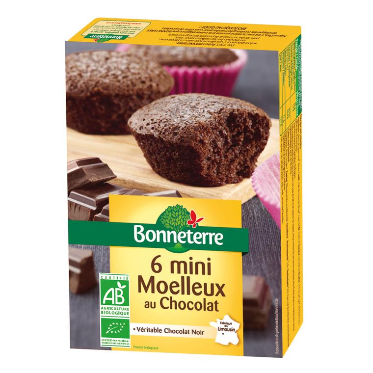 6 mini moelleux au chocolat noir 200 g 234369