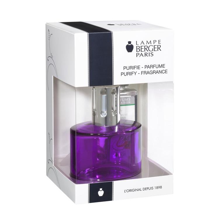 Coffret Lampe Berger Ovalie violette 235071