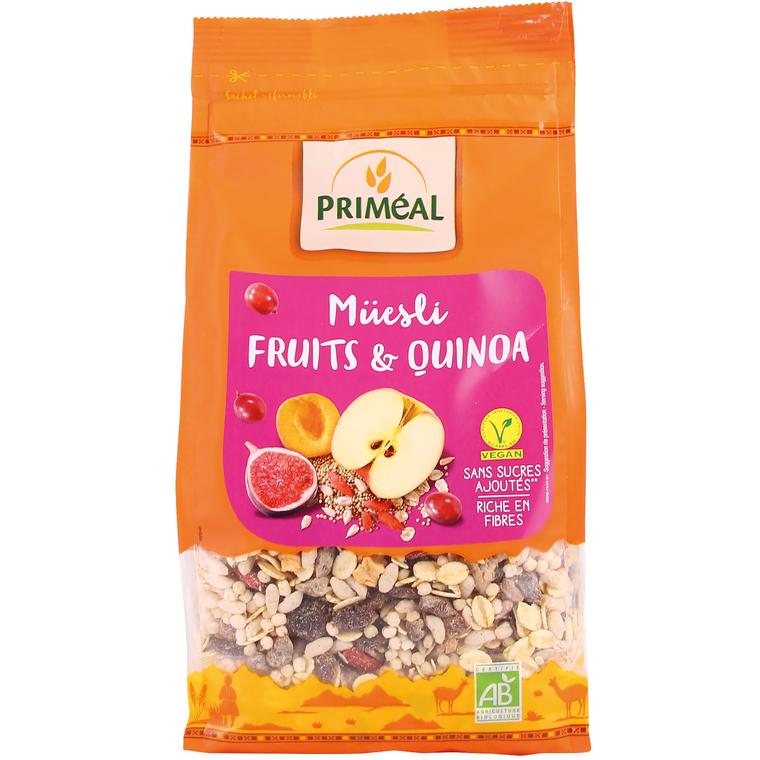 Muesli quinoa fruits PRIMEAL 350 g 242557